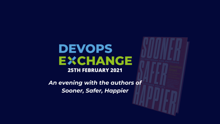 Sooner, Safer, Happier - an Evening with the Authors