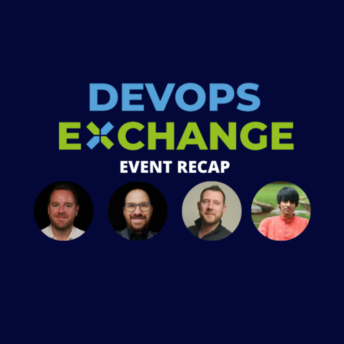 DevOps Exchange April Recap - ft. Amazon, RedHat, Checkit.net & SPIN