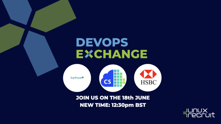 DevOps Exchange - Virtual Event ft Synthace, Container Solutions, HSBC